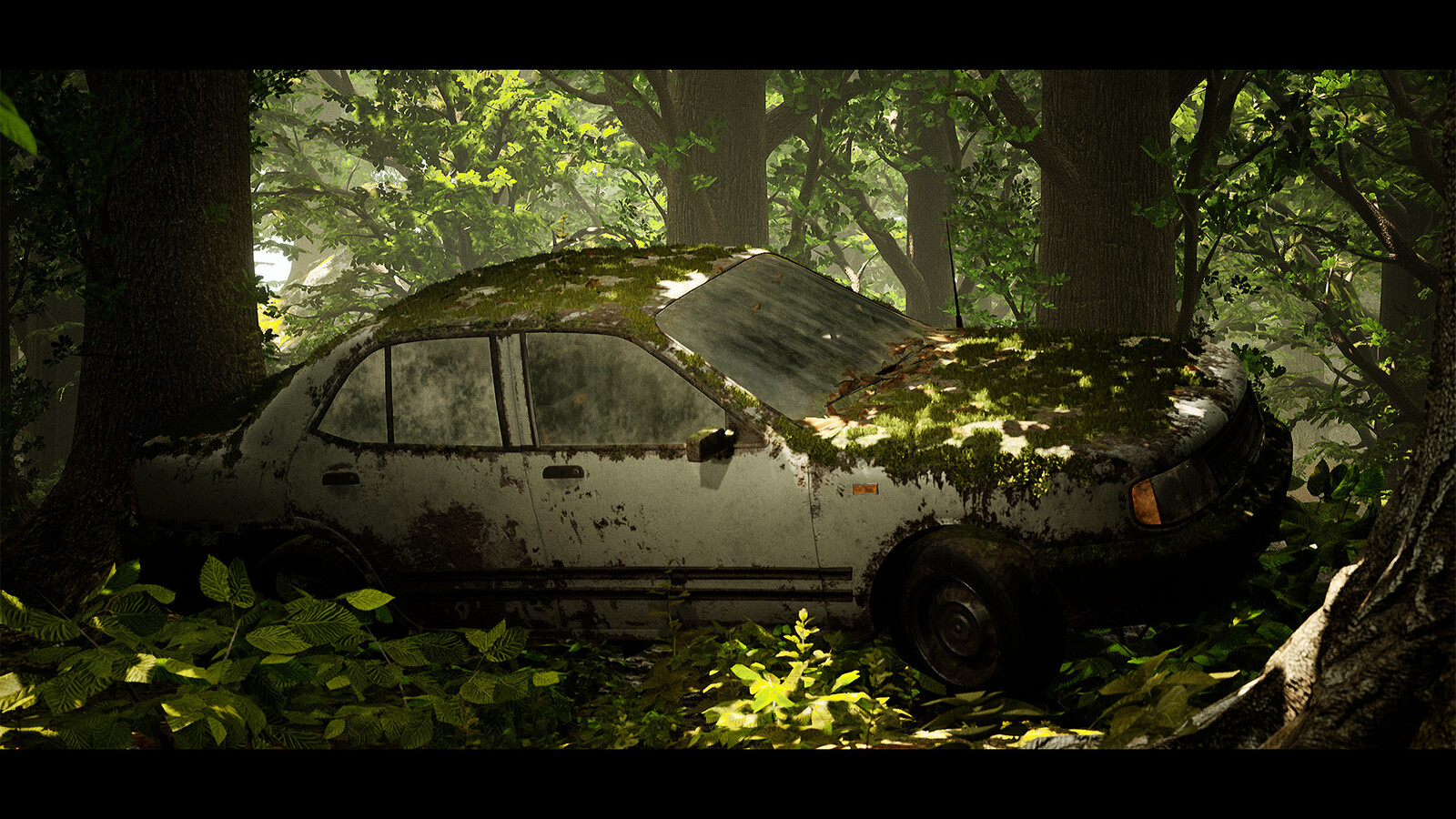 Procedural Sedan - Unreal Engine