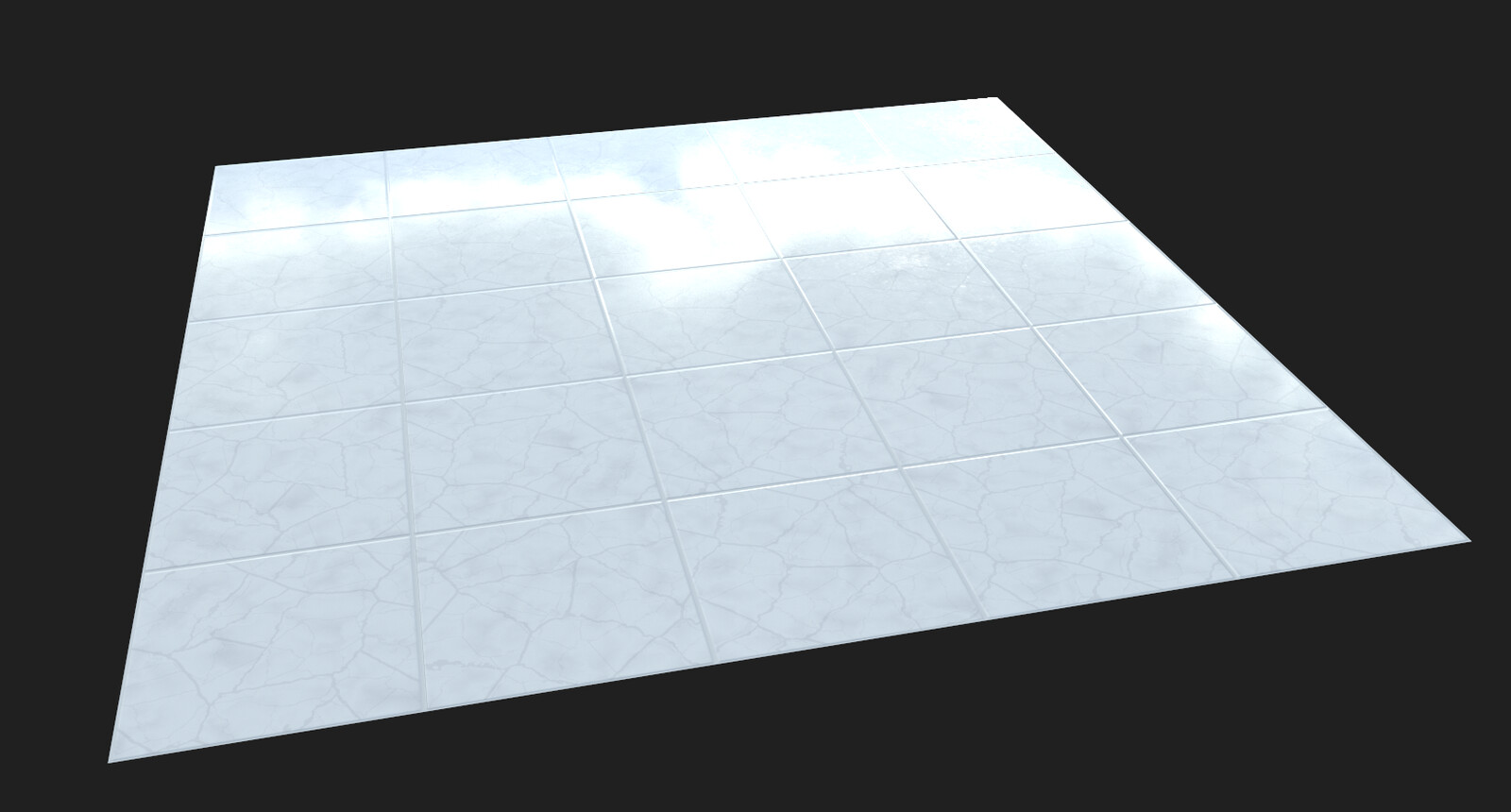 Marble tile material