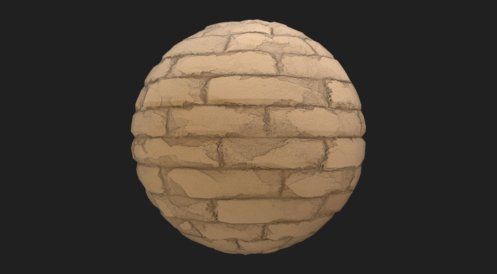 Brick material 1