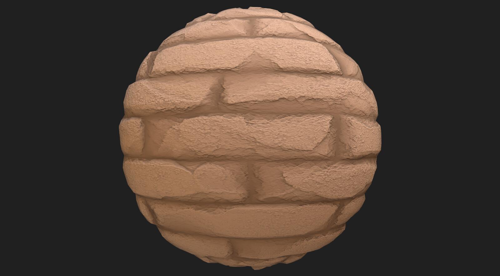 Brick material 2
