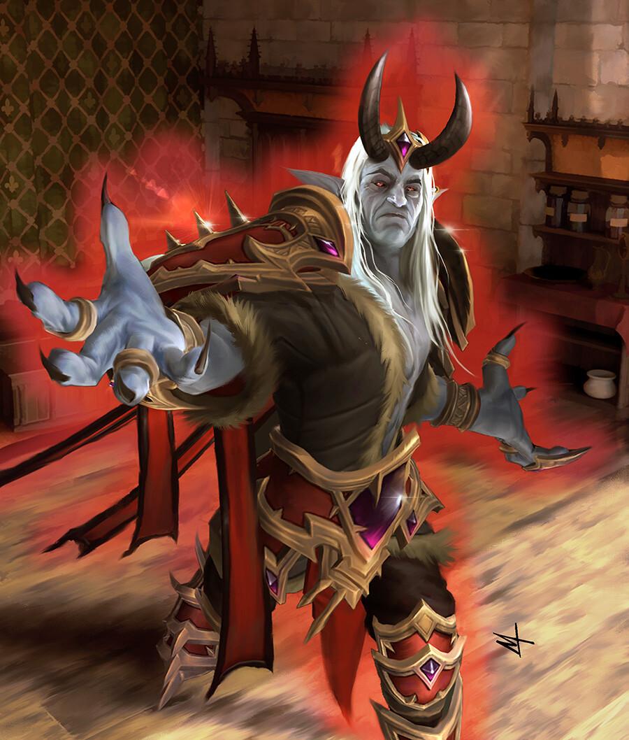 Sire Denathrius World of Warcraft