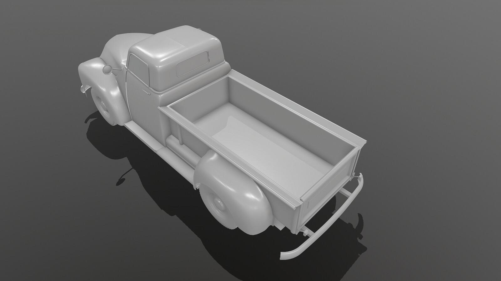 rear 3/4