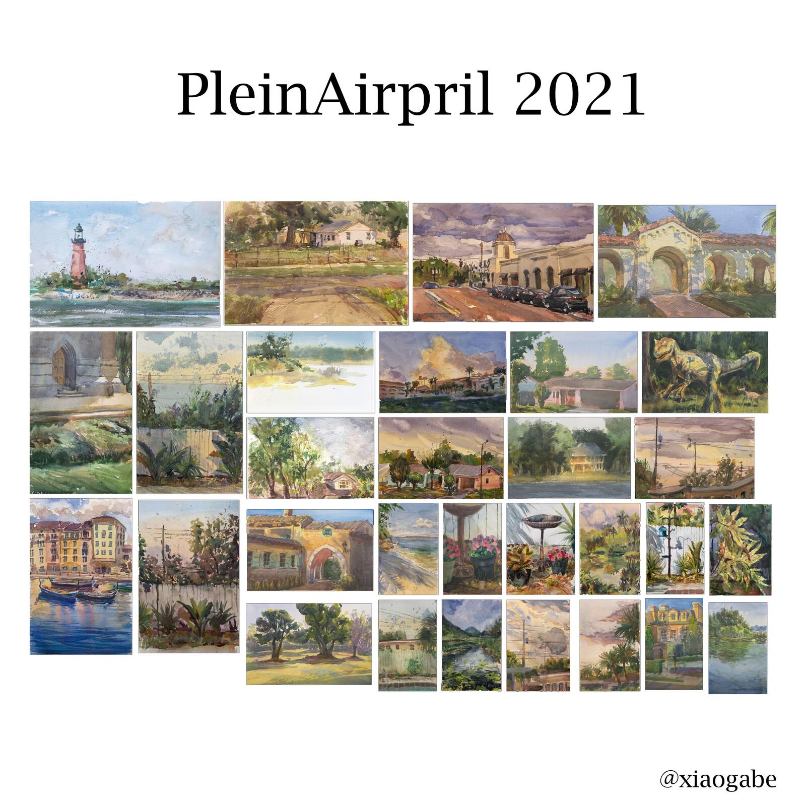 Plein Airpril 2021