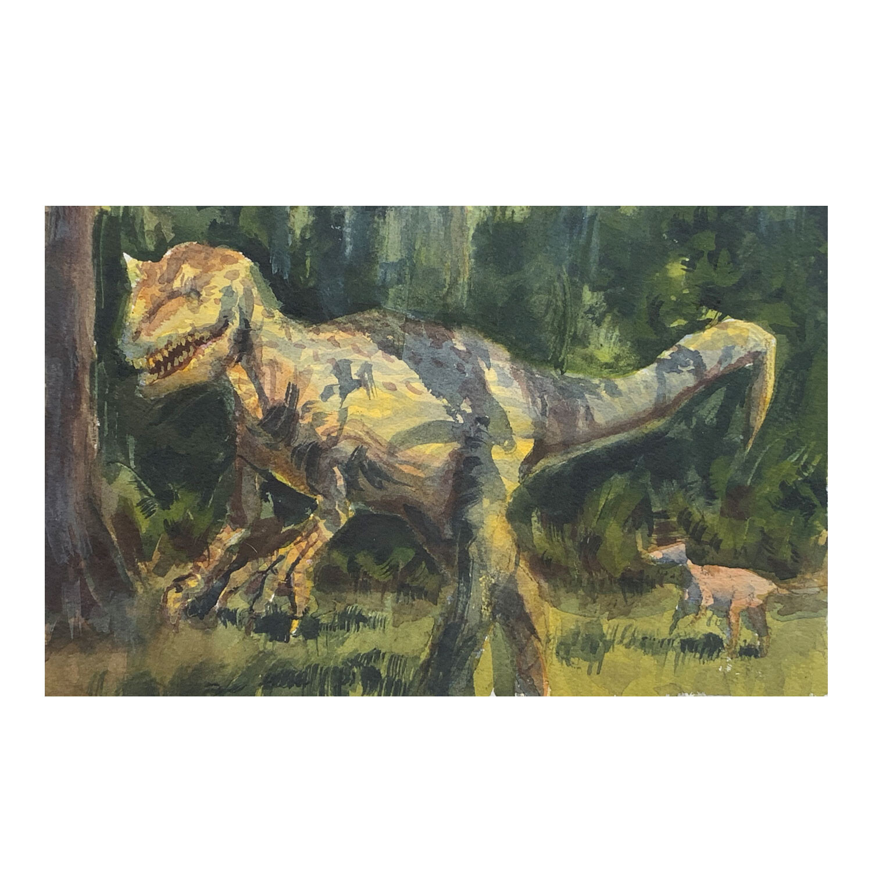 Leu Garden's Dinosaur invasion.