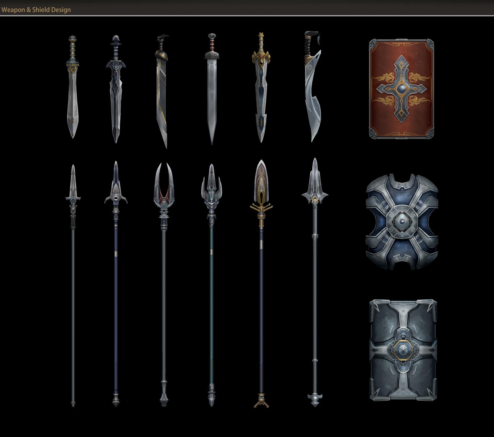 Ancient Rome_Weapon design