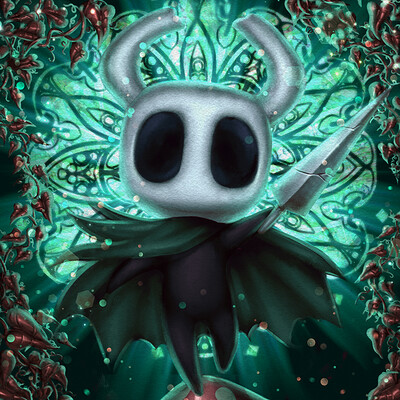 Claire leslie hollow knight comm