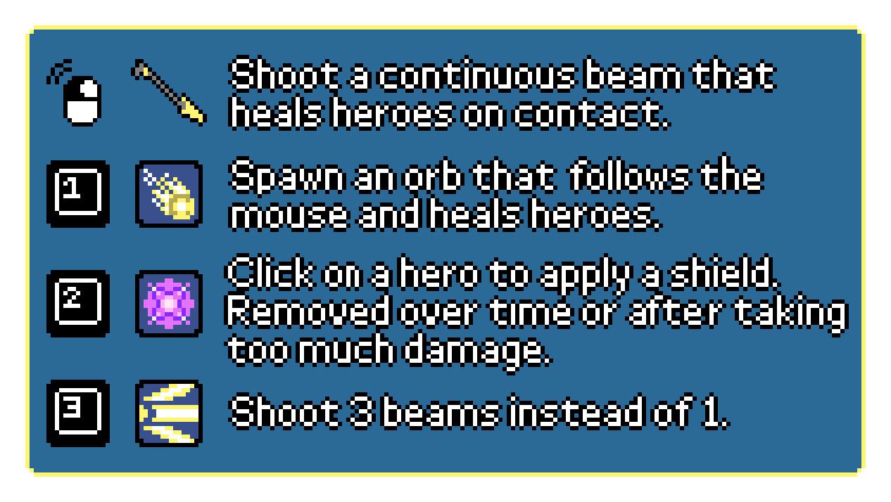 Help screen graphic