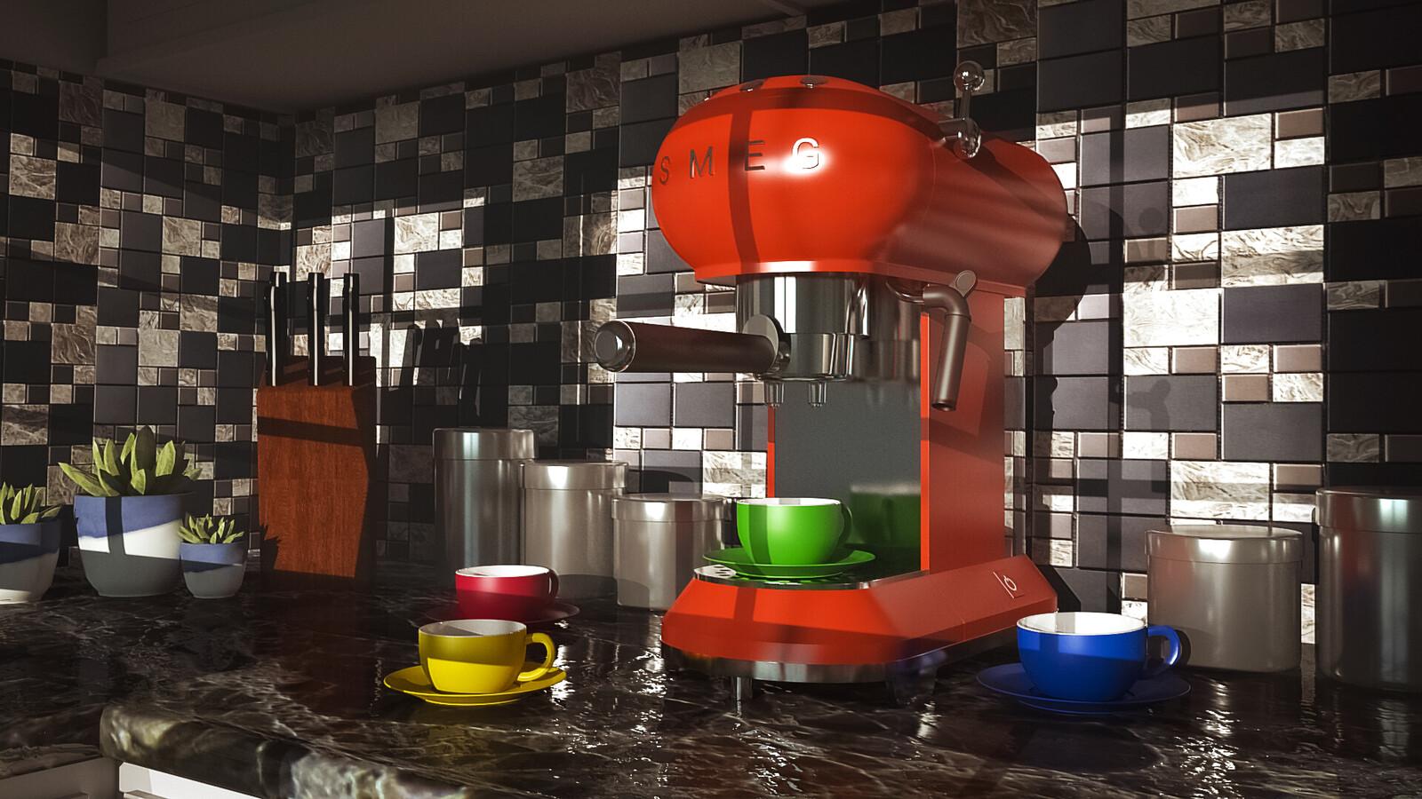 SMEG Cappuccino Machine