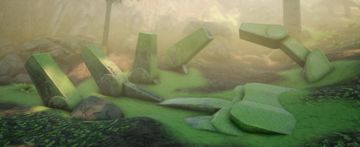 A Grave Overgrown - Environment Art