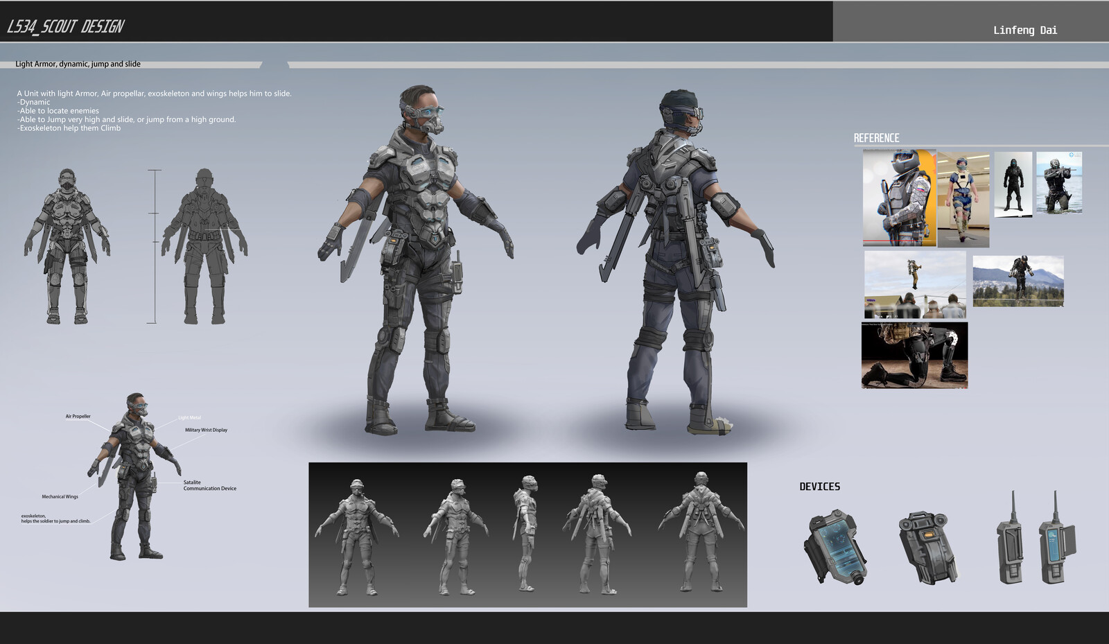 L534 Character_Scout Design