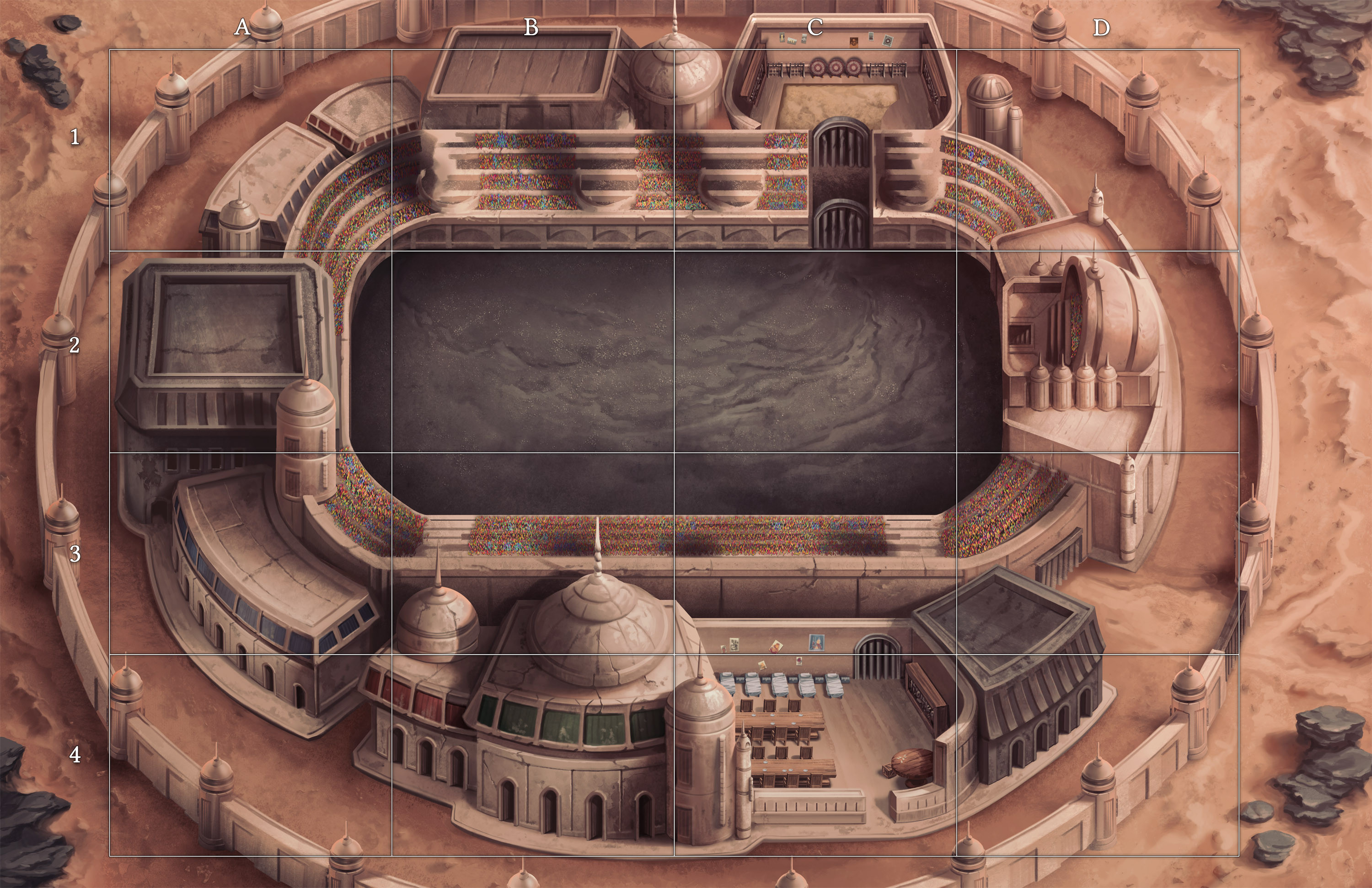 Deathmatch at the Colosseum of Ashes