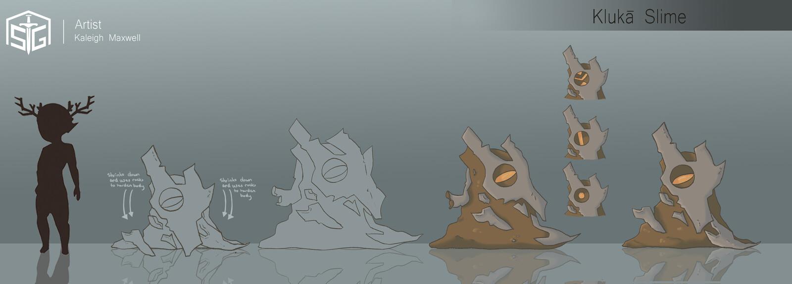 Soul Spires: Initium - Concepts Creatures : Slimes