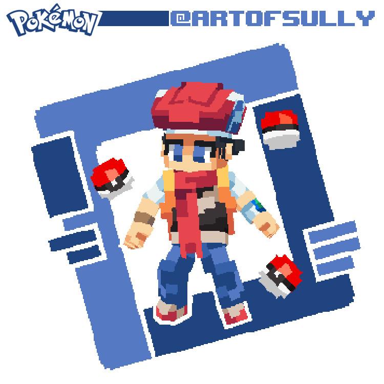 Pokémon Fan Art - Lucas