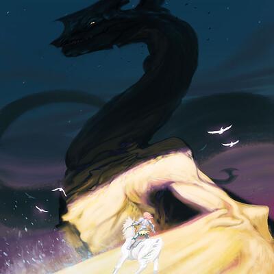 Clement mona 2021 le crepuscule de draak