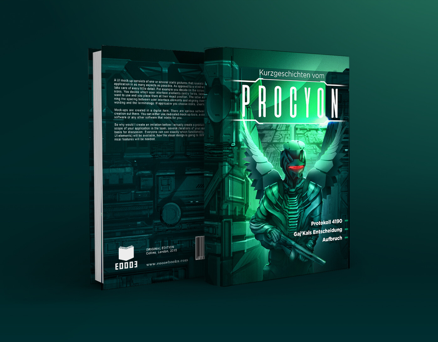 Procyon Stories - book cover