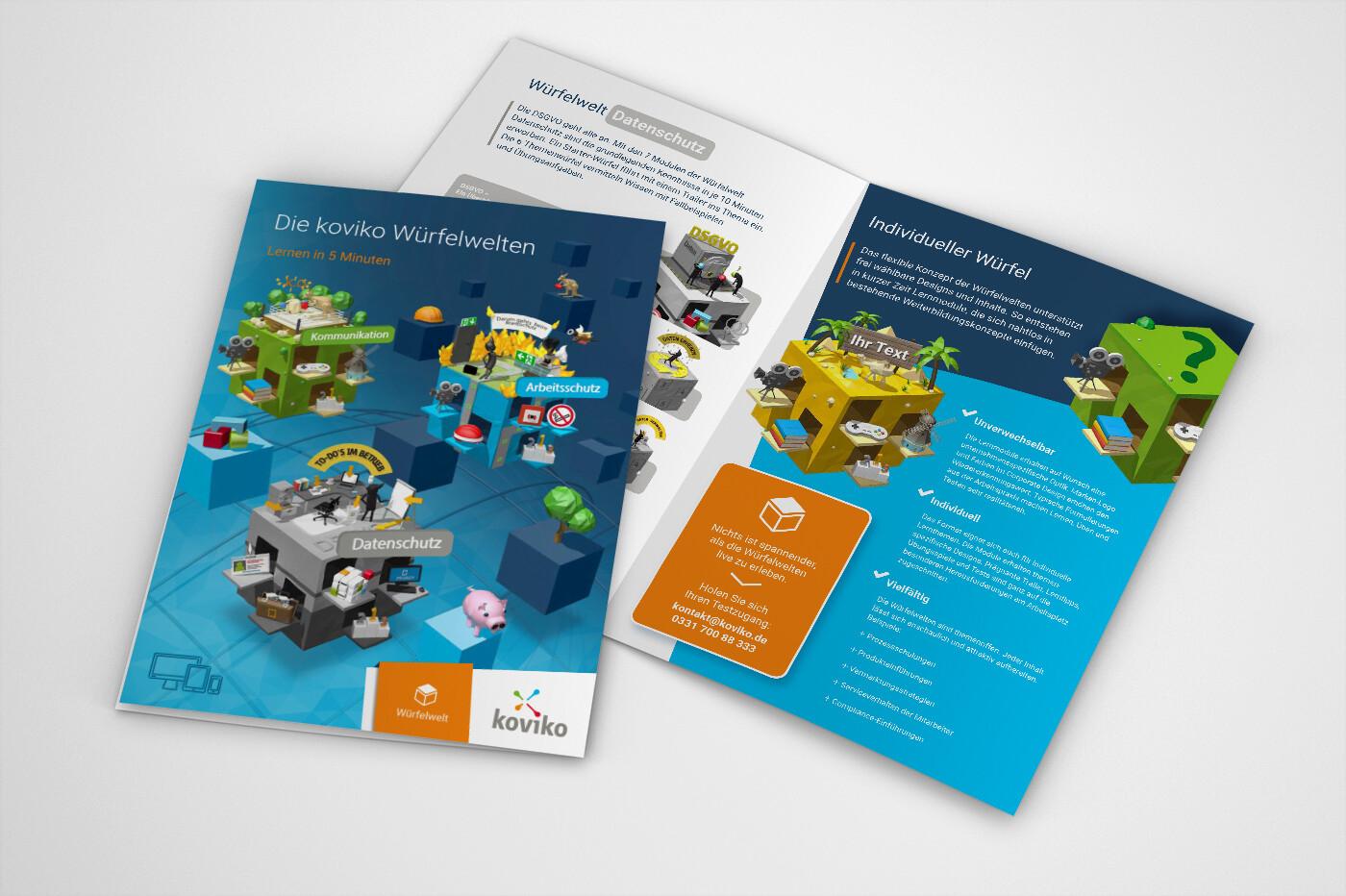 koviko - A4 brochure