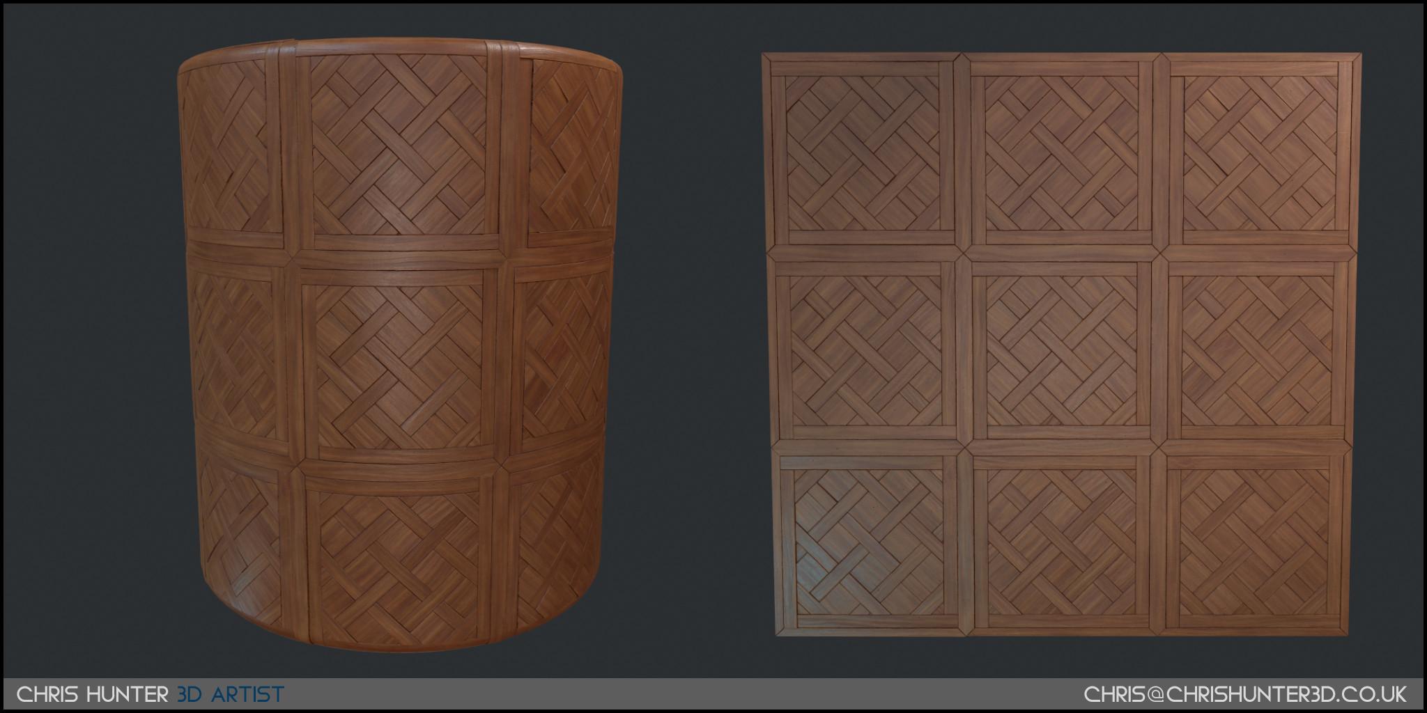 Wooden floor material made 100% in substance designer