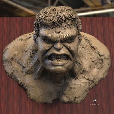 Surajit sen hulk digital sculpture surajitsen may2021al