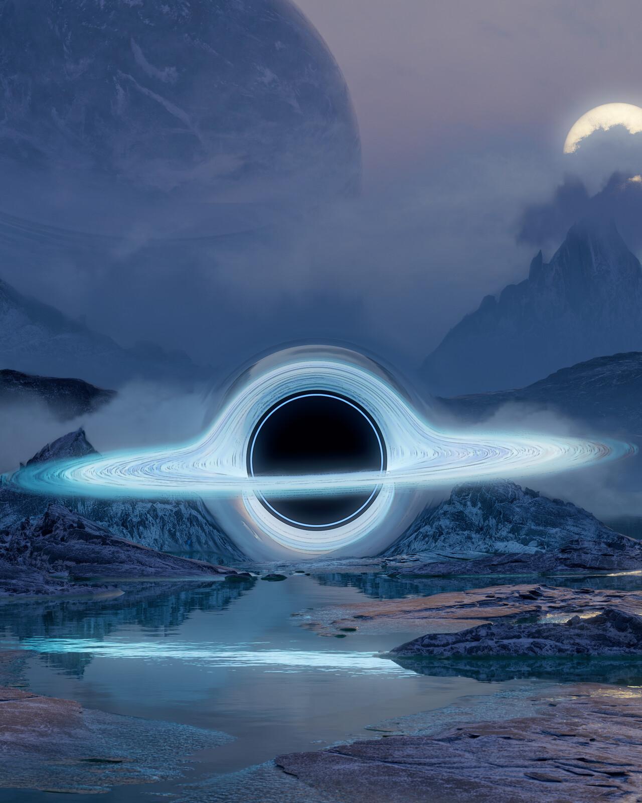Singularity - Distorted Blue