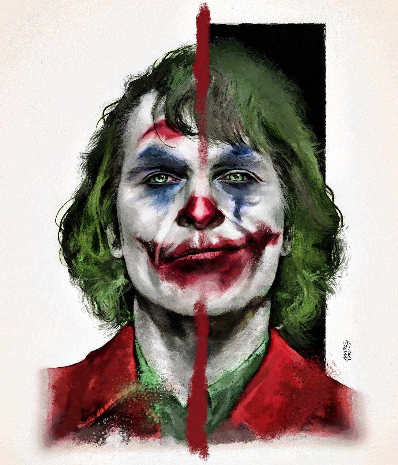 Jocker by Joaquin Phoenix