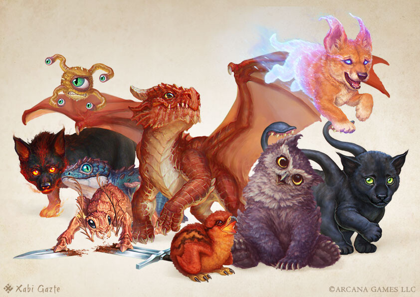 [Fantasy Familiars] - Baby Monsters