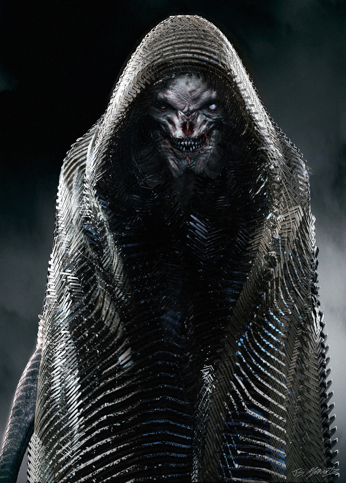 Desaad Early Concept for Zack Snyders Justice League