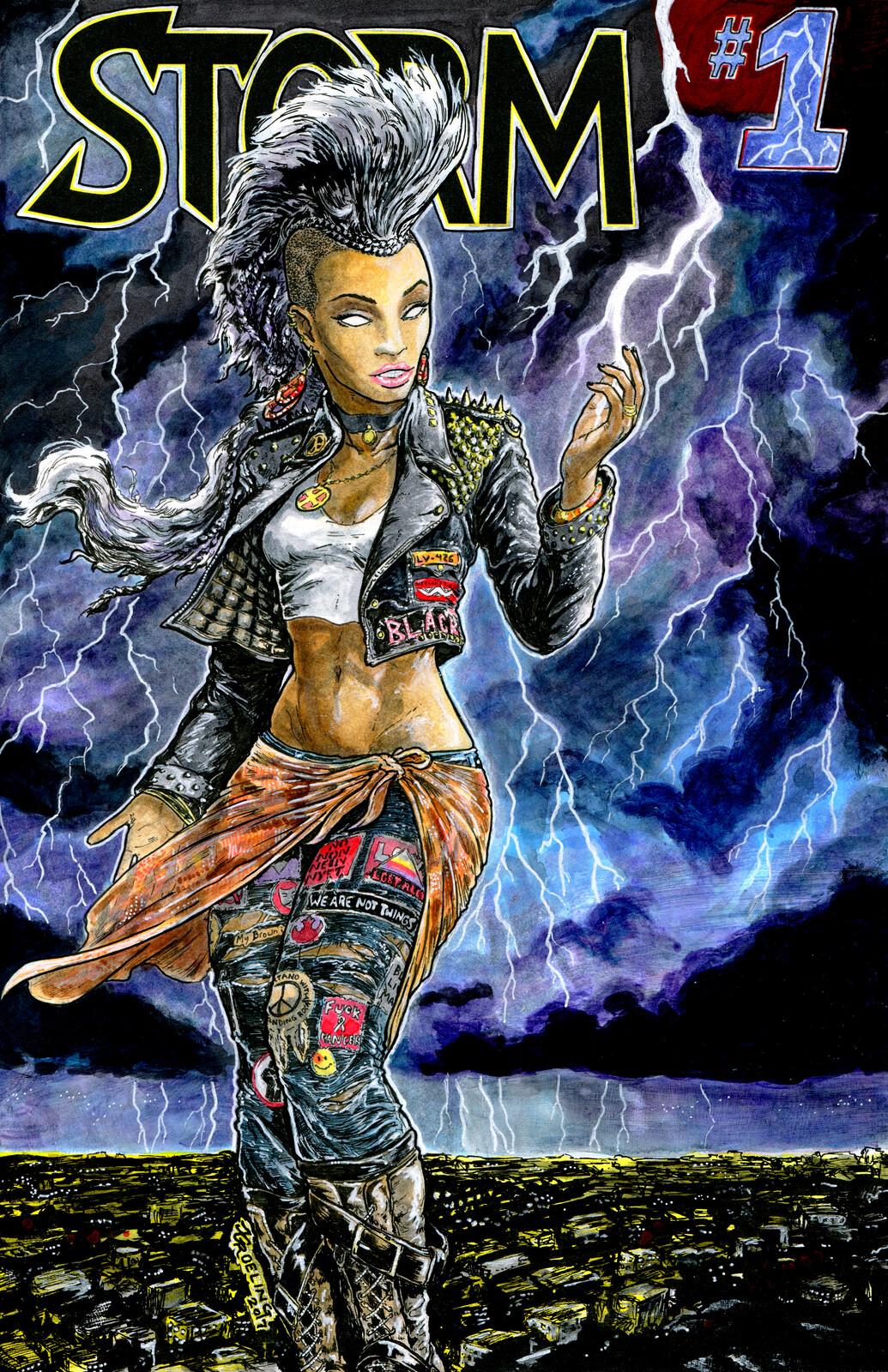 Storm - Marvel Comics (sketchcover)