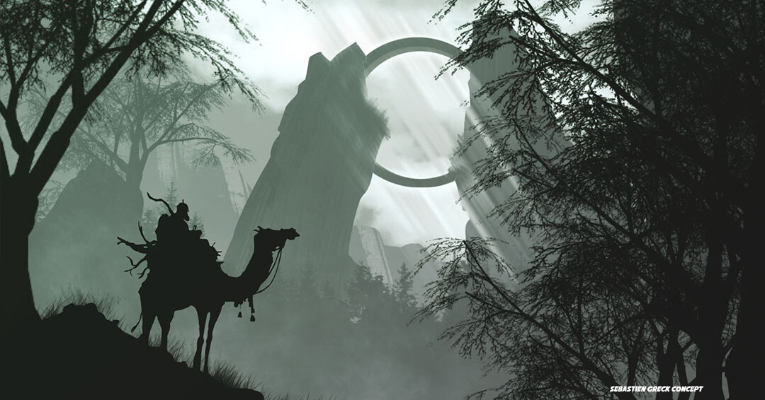 In the heart of the great forests of Coille uaine, a megastructure was discovered by the adventurer Haldryos Cain during his second expedition.