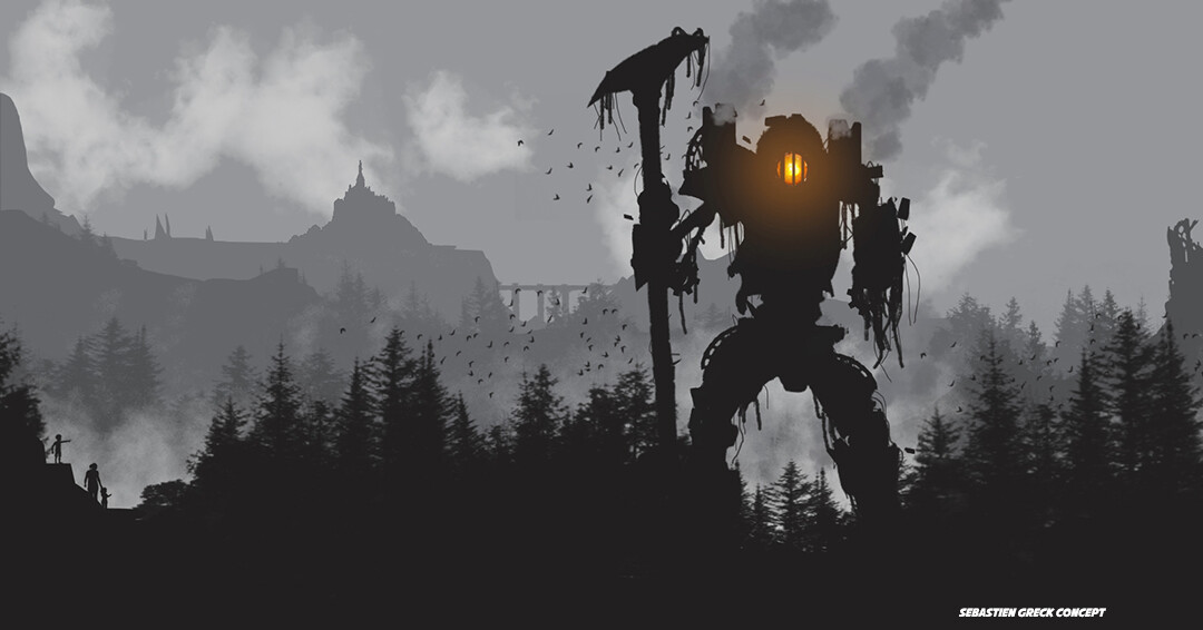 During one of the many wars of the last cycle, dwarf and human engineers created walkers, giant machines combining magic and steam.