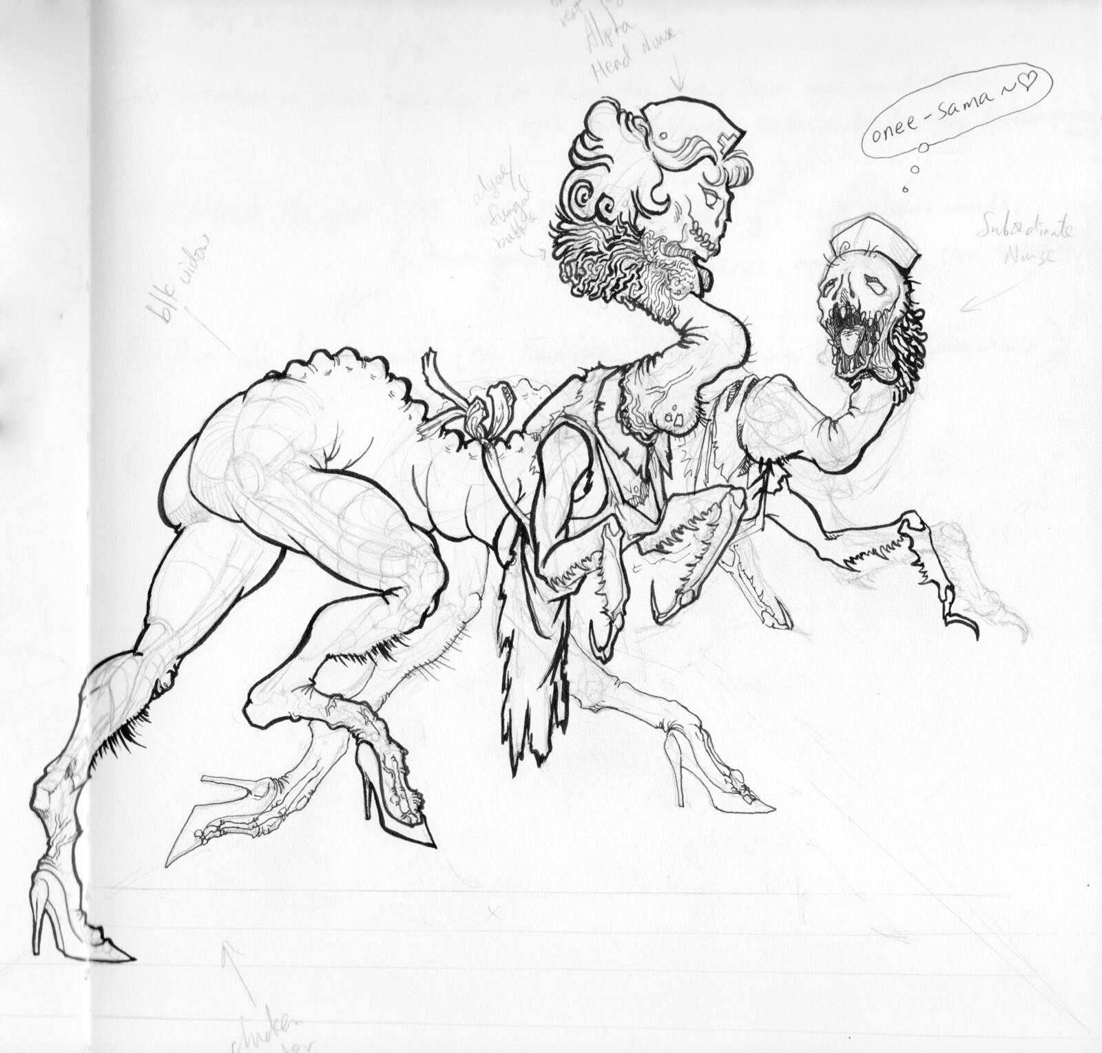 Old Sketches I Still Love