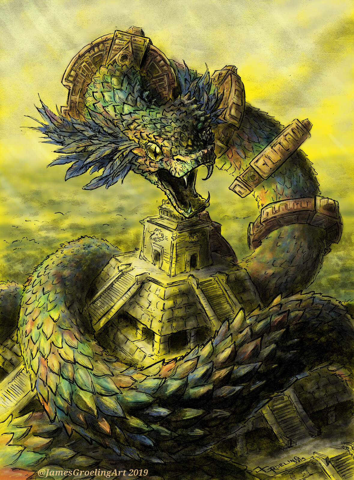Quetzalcoatl -Dawn of the feathered Serpent