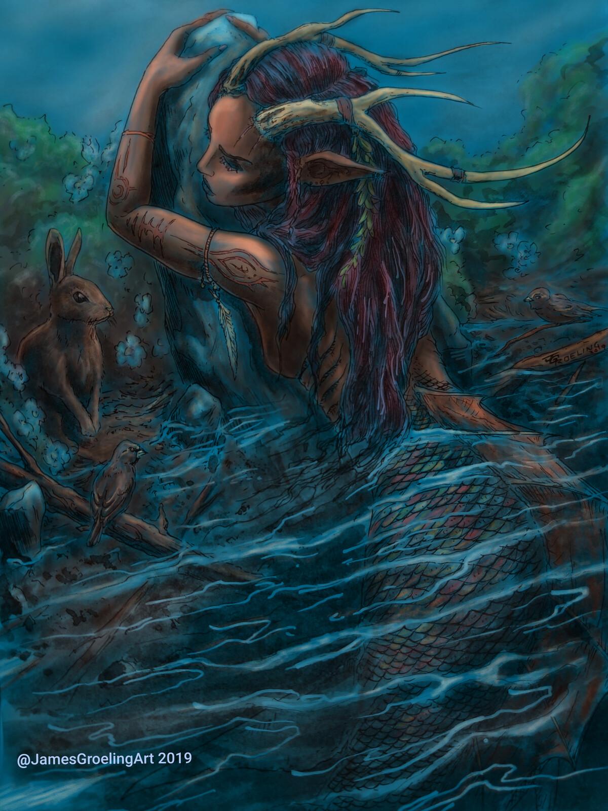 Forest Mermaid