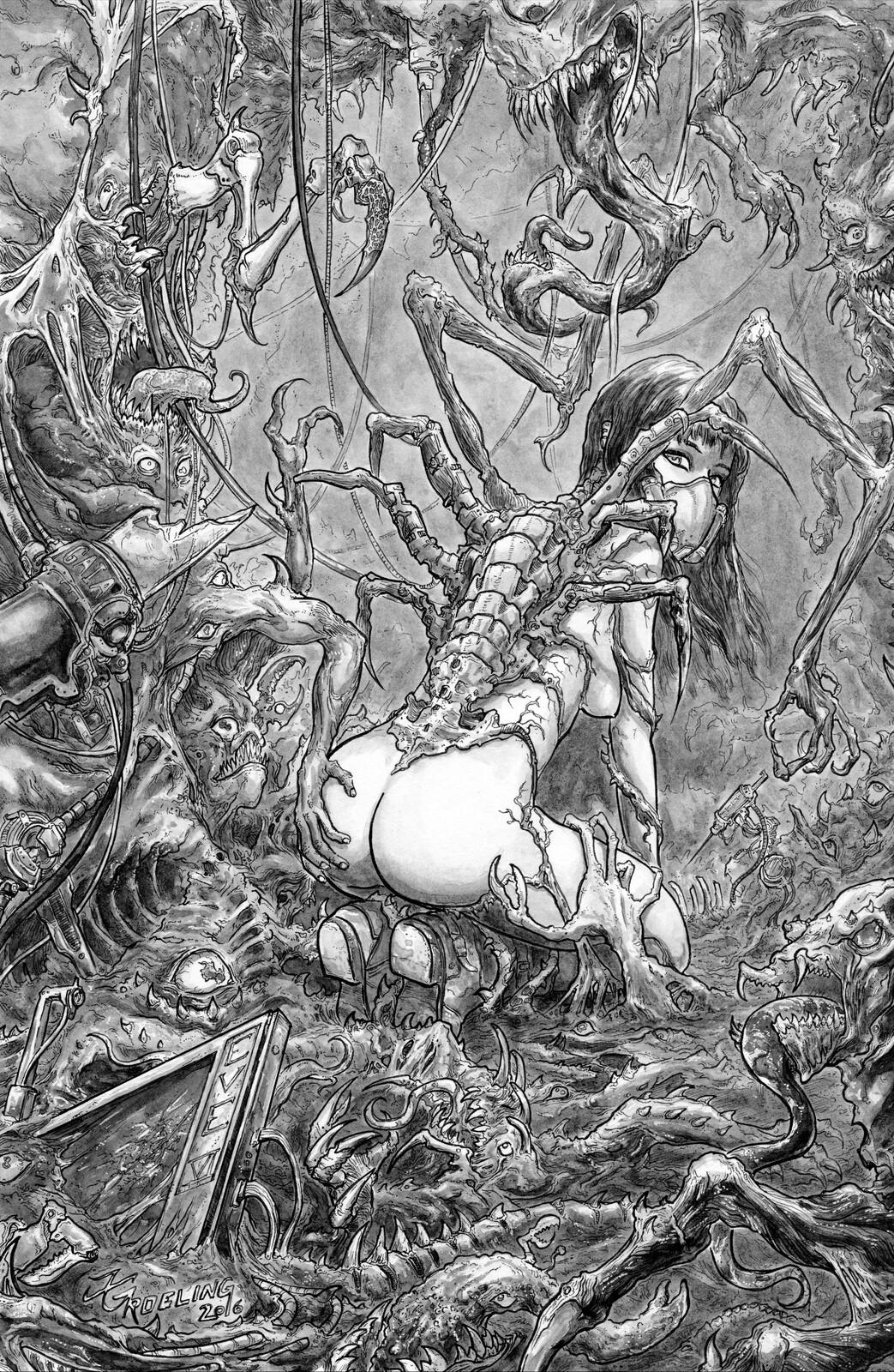 Eve VI - interior, Caustic Comics (published)