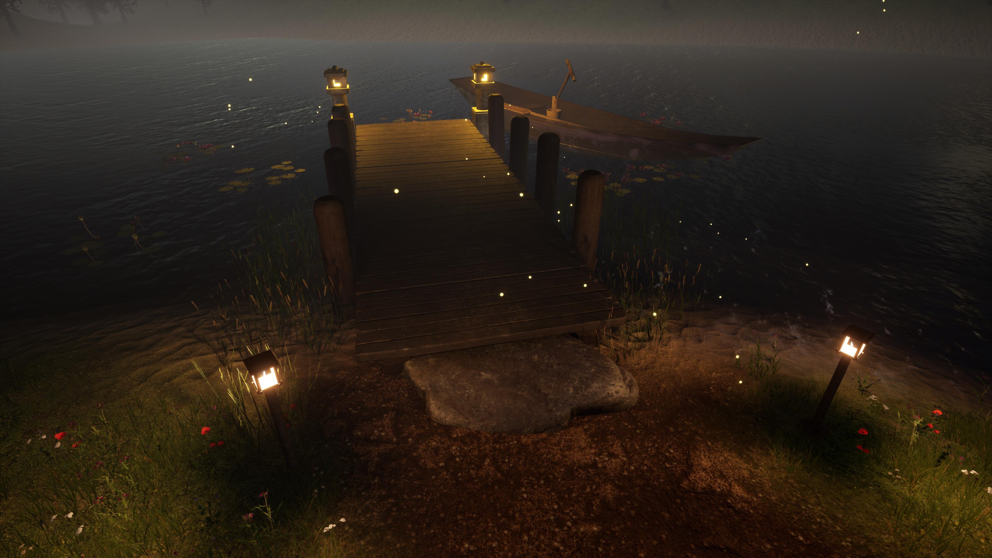 My dock.