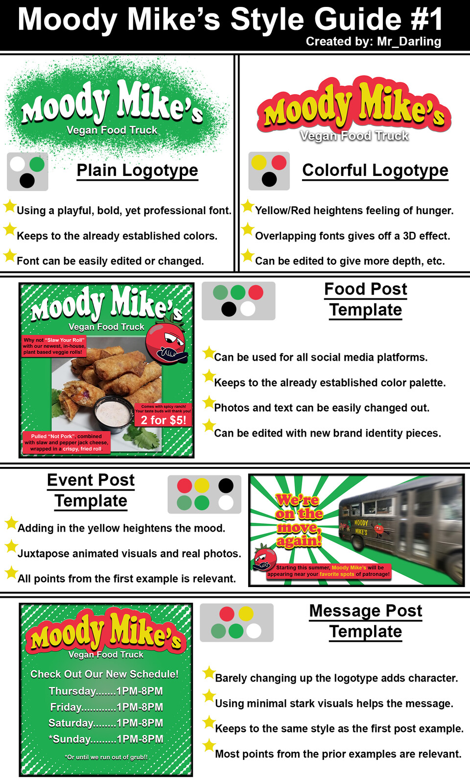Moody Mike's Style Guide Example