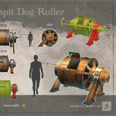 Julian hartinger turnspit roller