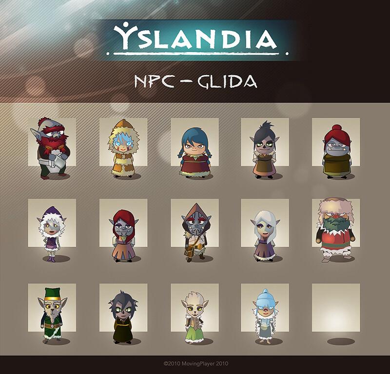 GLIDA extension NPC facebook