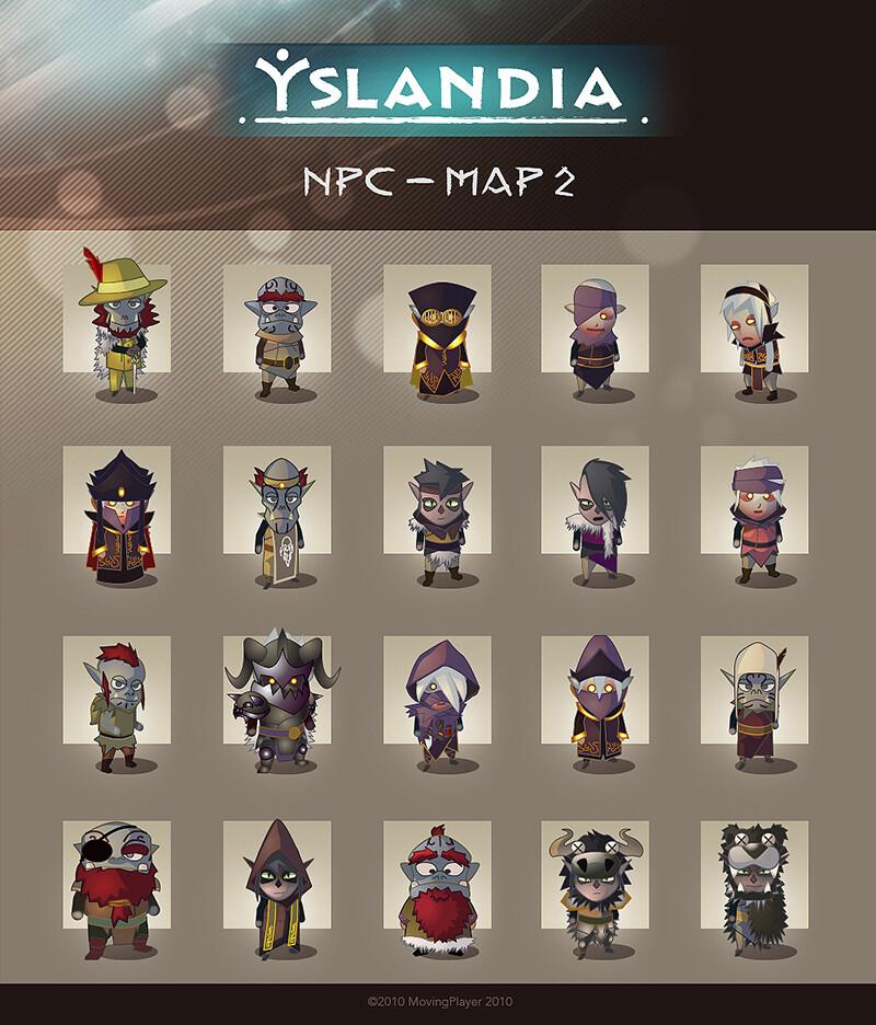 Second island's NPC facebook