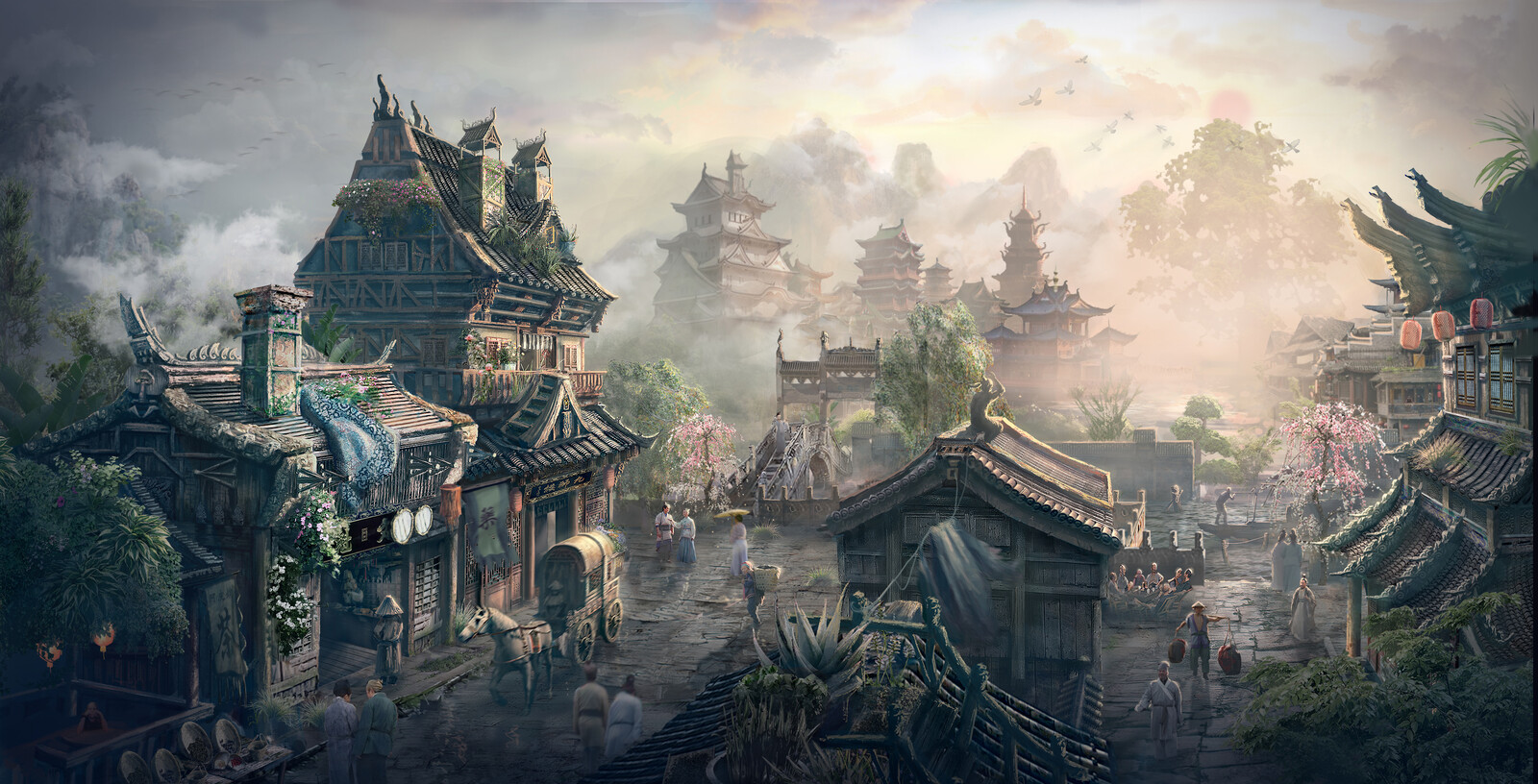 Old work- Chinese Fantasy