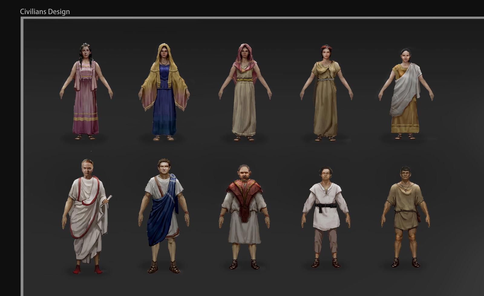 Ancient Rome - civilian Design