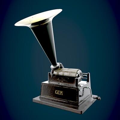 Edgar espino gramophone 01