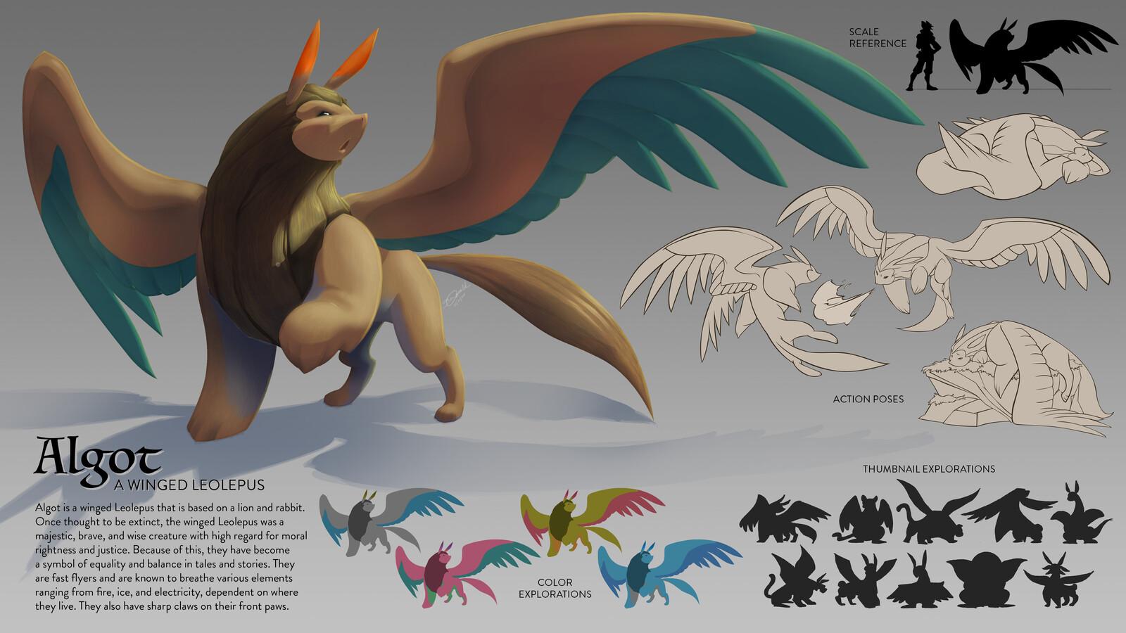 Algot, the Winged Leolepus