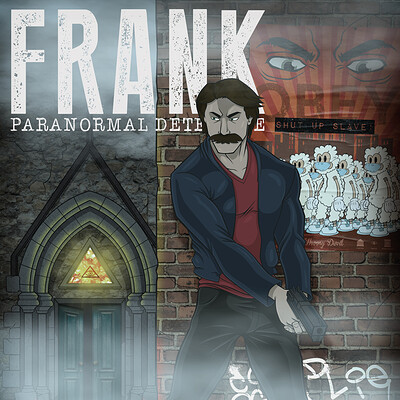 Thorny devil frank detective poster cmyk