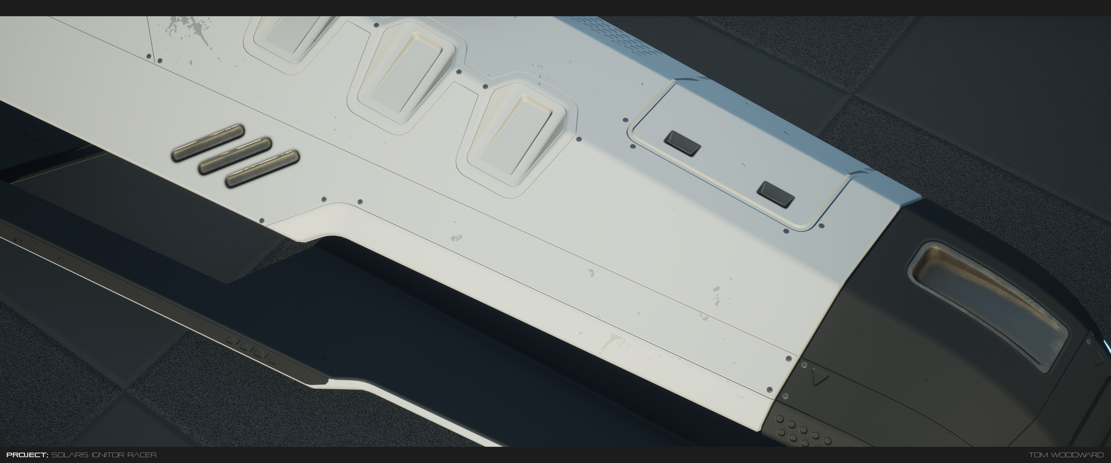 early material work in UE4