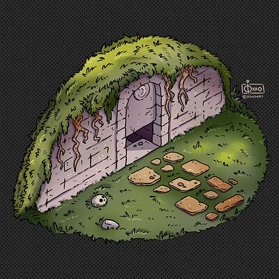 Oixxo art 2020 11 06 dungeon entrance3