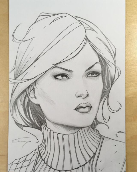 """4x6"""" sketch commission"""