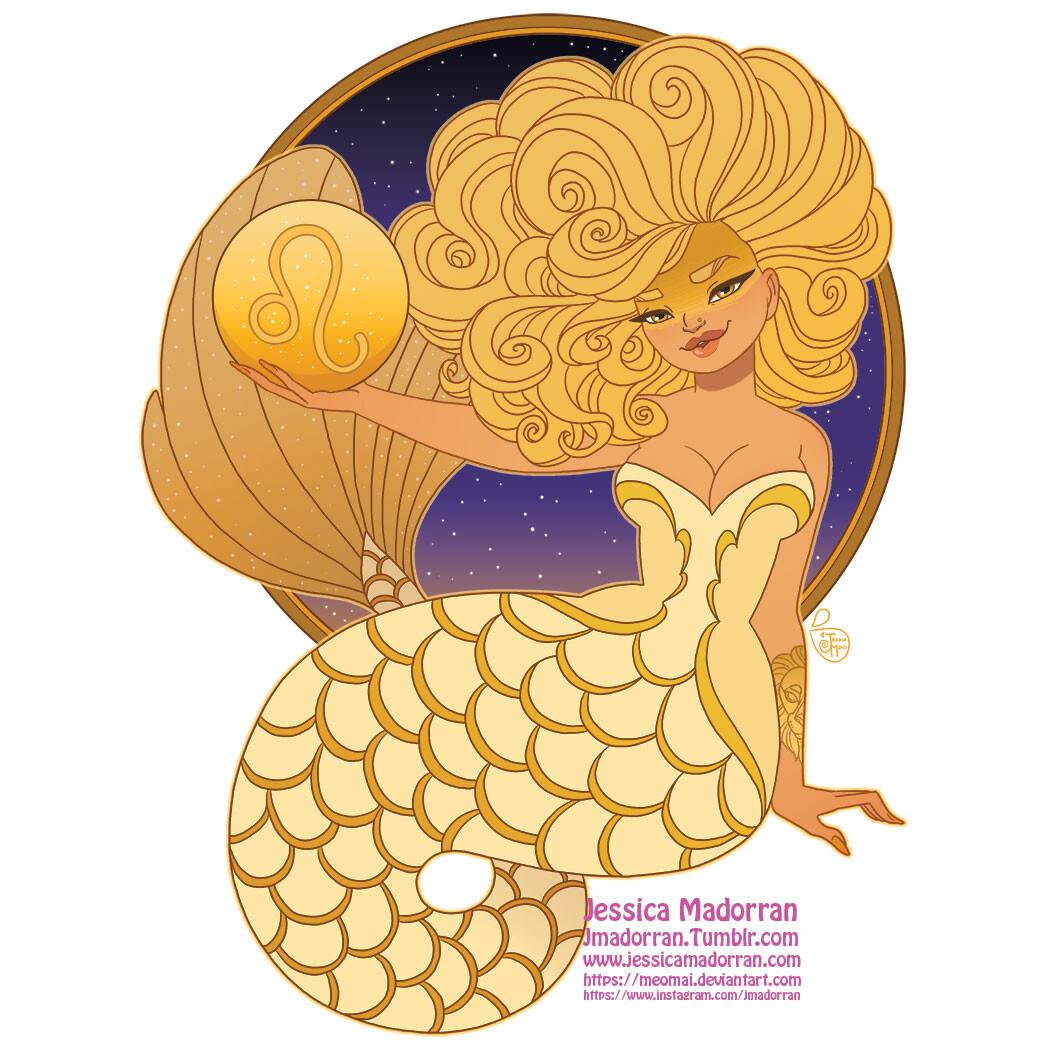 Patreon - May 2021 - Zodiac Mermaid - Leo