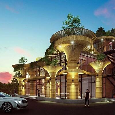 Neohouse architecture thiet ke tram dung chan 3