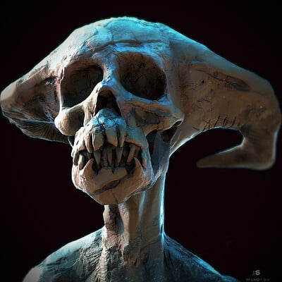 Surajit sen buzo 2 digital sculpture surajitsen may2021aa l