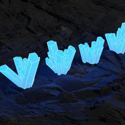 Vladimir almonte crystal render